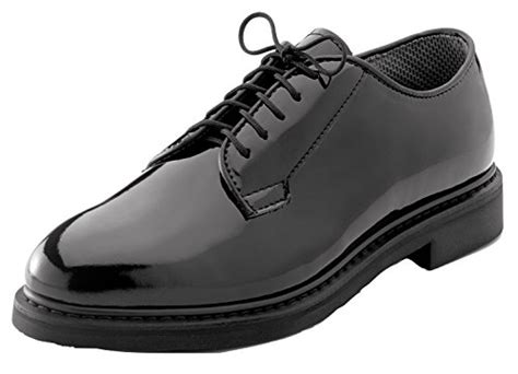 rothco oxford shoes rothco 5055w 10 5 rothco oxford hi gloss shoe