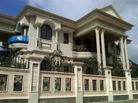 model desain rumah klasik  romawi model rumah modern