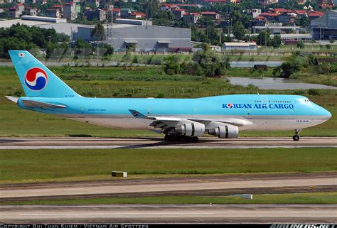boeing 747 4b5 bcf korean air cargo aviation photo 2112930 airliners net