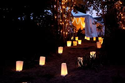 best outdoor luminaries lq designs paper bag luminaries weddingbee