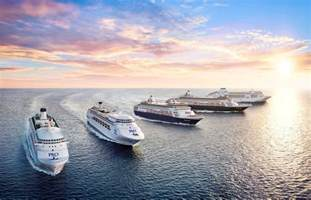 cruise ships there s a gathering of cruise ships in sydney harbour today business insider