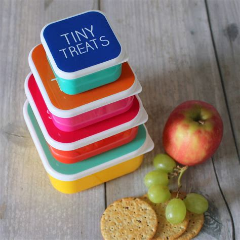 the little house shop mini snack boxes by the little house shop notonthehighstreet com