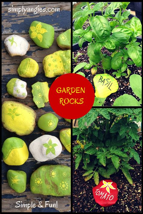 painted garden rocks painted garden rocks simply angie