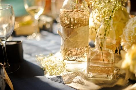 burlap and lace centerpieces wedding centerpieces with burlap and lacewedwebtalks