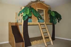 Loft Beds Jacksonville Fl Surf Shack Jungle Theme Tiki Hut Loft Bed Spots 4 Tots