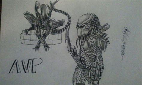 vs predator drawings vs predator drawing versus predator universe