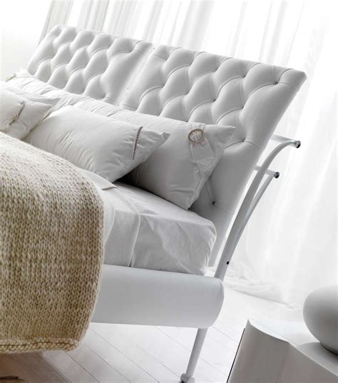 double bed padded headboard double bed with upholstered headboard arka by cortezari