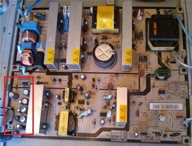 samsung tv capacitor type repair kit samsung lnt4061f rev2 lcd tv capacitors ebay