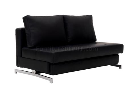 j m futon k43 2 sofa bed in black leatherette by j m furniture