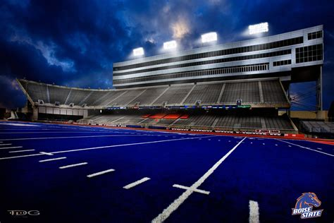 Blue Turf by The Blue Turf And Boise State Go Broncos