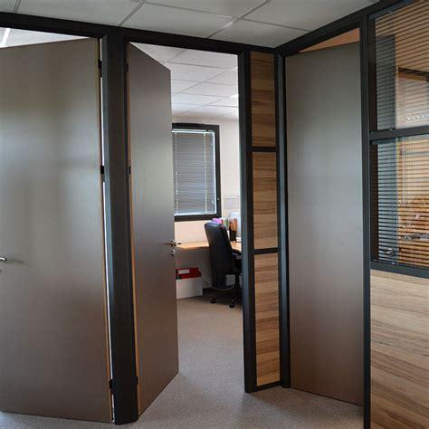 cloison aluminium bureau blocs portes pour cloisons de bureaux av aluminium