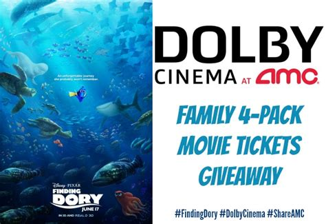 Disney Ticket Giveaway - disney pixar s findingdory movie ticket giveaway with