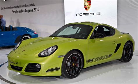 2011 Porsche Cayman R car and driver