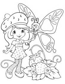 strawberry shortcake 62 coloringcolor