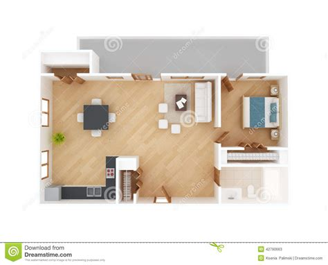 best floor plan apartment floor plan top view stock illustration image 42790663
