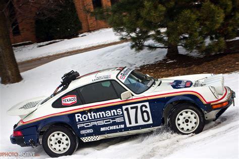 rothmans porsche rally ebay find of the day 1989 porsche 911 rothmans rally car