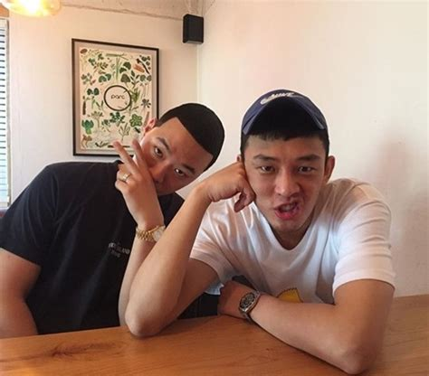 yoo ah in soompi bewhy dishes on his friendship with yoo ah in and