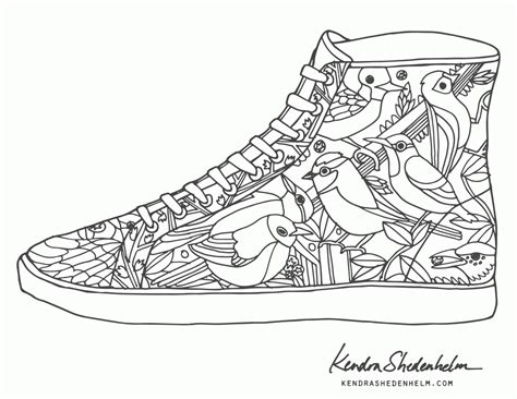 shoe coloring page shoes coloring pages print coloring home