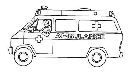 ambulance coloring page free school name tag coloring pages coloring pages