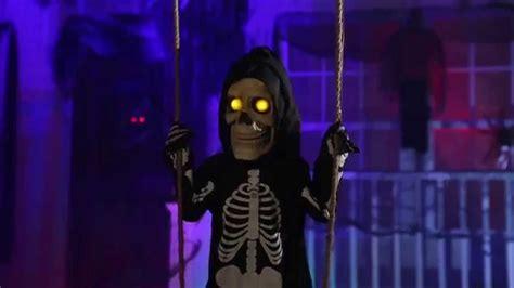 swinging bones lil skelly bones spirit halloween youtube linkis com