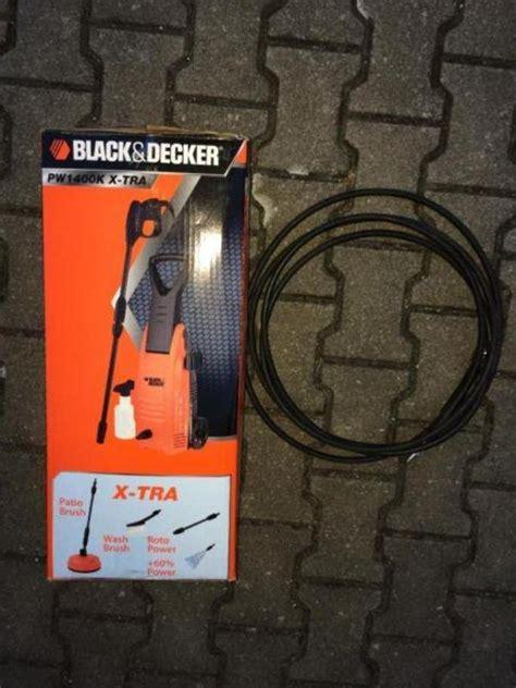 black decker hochdruckreiniger black decker hochdruckreiniger pw1400k x tra plus