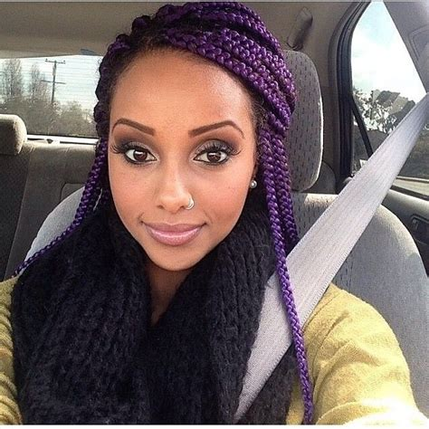 purple hairstyles for black women outfittrends top 13 cute purple hairstyles for black