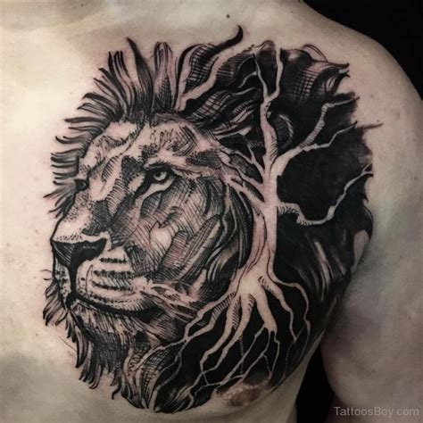 lion tattoo on chest designs lion tattoos tattoo designs tattoo pictures page 23