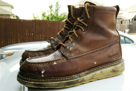 die hard on a boat worn sears diehard suretrack 6 quot work boots haberdashery