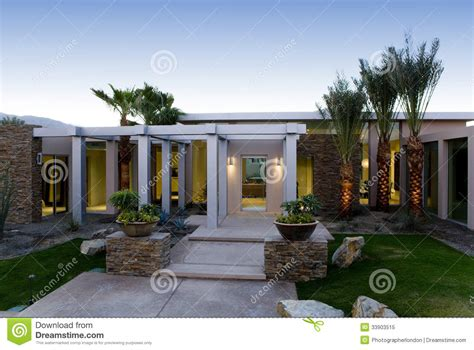 lawn and walkway in front of modern house royalty free stock photo image 33903515