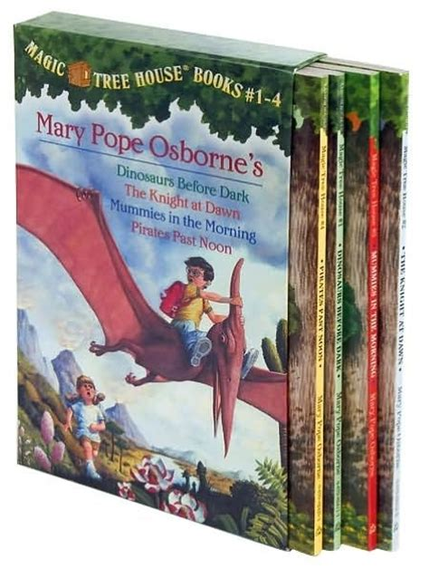 magic tree house series magic tree house boxed set books 1 4 magic tree house series
