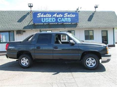 2004 chevrolet avalanche for sale 2004 chevrolet avalanche for sale carsforsale