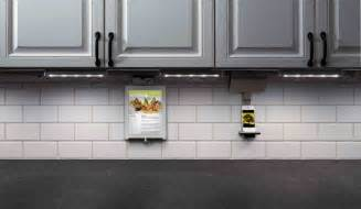 How To Install Under Cabinet Lighting In Your Kitchen by Legrand 174 Adorne Under Cabinet Lighting System Morning