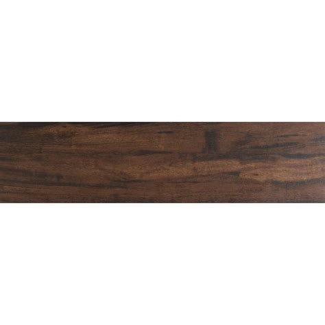 ms international botanica teak 6 in x 36 in glazed