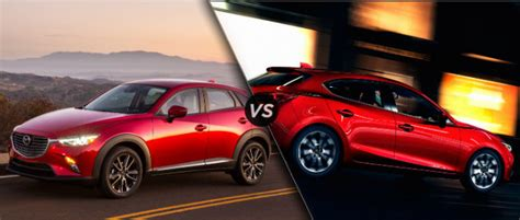 difference in mazda 3 models difference between 2016 mazda cx 3 vs mazda 3 hatchback