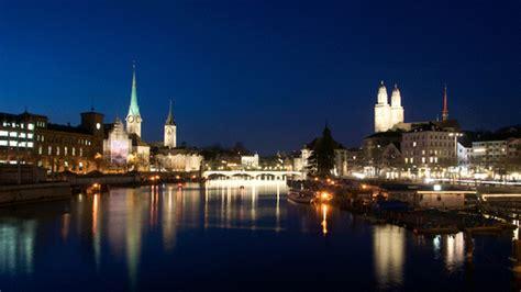 Of Zurich Mba by Z 252 Rich Blaue Stunde Schweiz Tourismus