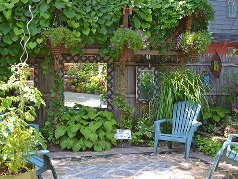 Away To Garden by 18 Dazzling Mirror Ideas For Your Garden Garden Club