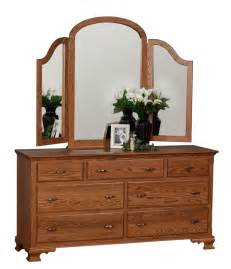 Tri Fold Dresser Mirror by Traditional Dresser With Tri Fold Mirror Bedroom