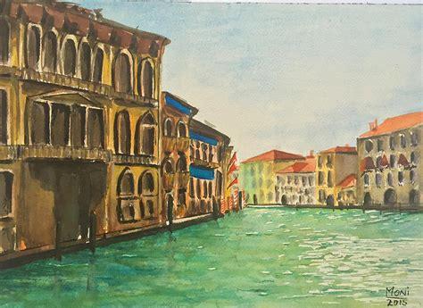 boat ride in venice venice boat ride painting by monika arturi