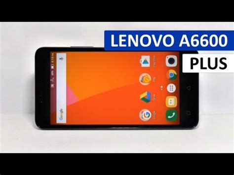 Lenovo A6600 Plus Review Specification & Performance   YouTube