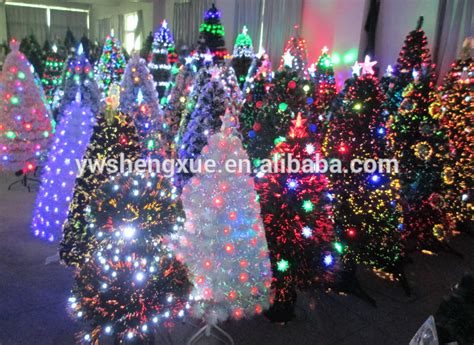 hot sell fiber optic led lights gold angel christmas tree