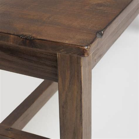 distressed brown wood gulianna extra long dining bench distressed brown wood gulianna extra long dining bench