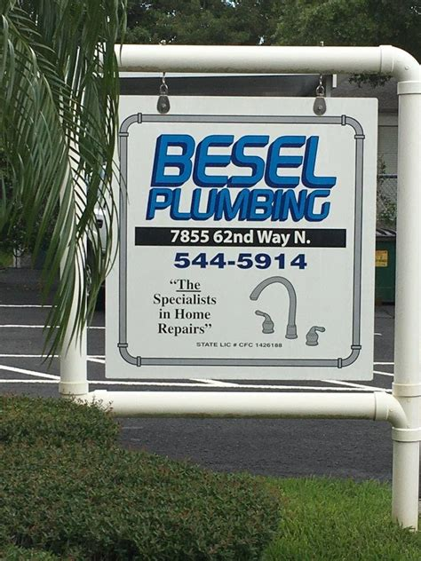 Besel Plumbing by Water Filtration Systems Pinellas Fl Besel Plumbing Inc