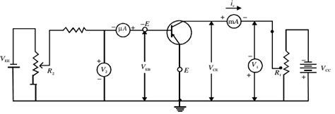 a pnp transistor is connected in a circuit so that the collector base junction remains common emitter ce configuration of a pnp transistor