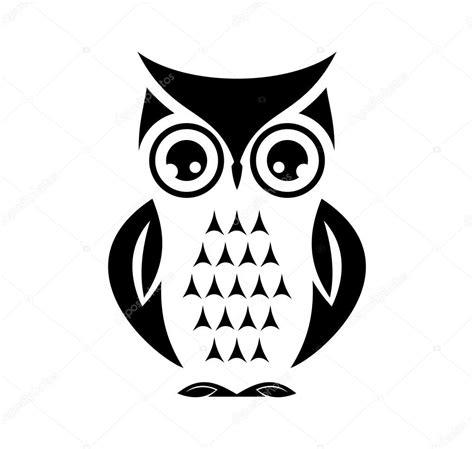 imagen blanco y negro en corel buho lindo vector vector de stock 169 branchecarica 73477795