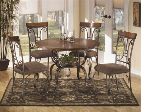 Ashley Plentywood 5 Piece Dining Set Dining Room Sets Harden Dining Room Furniture
