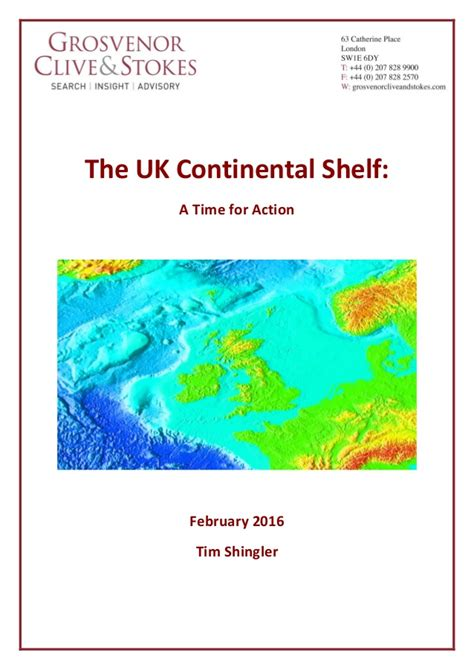 Sea Continental Shelf Summary by The Future Of The Sea Final With Page Border