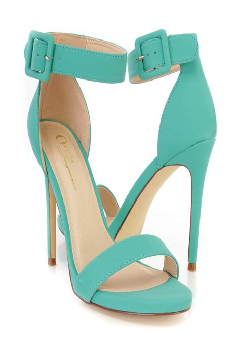 aqua high heel shoes aqua ankle single sole high heels nubuck