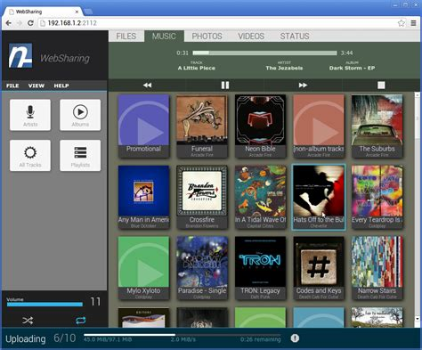albums free android app websharing 2 0 view transfer files me android development and hacking