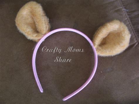 teddy ears headband template crafty teddy ears teddy picnic