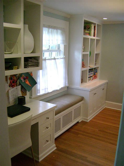 Windowseat Inspiration Window Seat Kitchen Desk Window Seat And Boocase Flickr Photo House Decorators